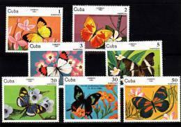 Cuba Nº 2515 Al 2521 - Cuba