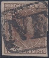 1884-209 CUBA SPAIN ANTILLES. 1884. ALFONSO XII. POSTAL FORGERY IMPERF. NE MARCA PREFILATELICA. - Préphilatélie