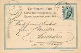 ÖSTERREICH / SAYRISCH / ZYWIEC  -  1901 - Ganzsachen