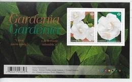 Canada   2019  GARDENIA    Sheetlett Of 2 Stamps  MNH - Blocs-feuillets