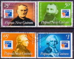 "PAPUA NEW GUINEA 1999 SG #860-63 Compl.set Used ""PhilexFrance '99"" - Papua New Guinea"