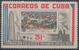 1962.170 CUBA. 1962. Ed.965. MNH. EXPO FILATELICA PRAGA, CHECOSLOVAQUIA, PHILATELIC EXPO - Cuba