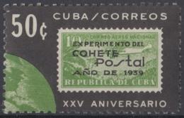 1964.147 CUBA. 1964. Ed.1105. MNH. 25 ANIV COHETE POSTAL CUBANO, POSTAL ROCKET - Kuba