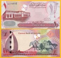 Bahrain 1 Dinar P-26 2006 UNC Banknote - Bahreïn
