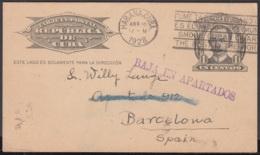 1904-EP-154 CUBA 1904 MARTI POSTAL STATIONERY 1920 SPECIAL PRINTING CUBAN TELEPHON - Kuba