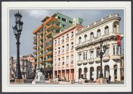 2011-EP-34 CUBA 2011 POSTAL STATIONERY FORWARDED. HABANA 34/40, PRADO STREET. - Kuba