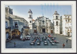 2011-EP-35 CUBA 2011 POSTAL STATIONERY FORWARDED. HABANA 5/40, CATEDRAL CHURCH, CATHEDRAL OF HAVANA. - Kuba