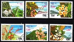 Laos 1983 MiNr. 655/ 660  O / Used ; Blüten - Pflanzen Und Botanik