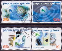 PAPUA NEW GUINEA 1999 SG #869-72 Compl.set Used New Millenium - Papua New Guinea