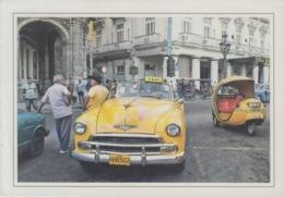2013-EP-155 CUBA 2013 POSTAL STATIONERY FORWARDED. HABANA 28/32, CHEVROLET OLD CAR, AUTOS ANTIGUOS. - Cuba