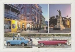 2013-EP-161 CUBA 2013 POSTAL STATIONERY FORWARDED. HABANA 4/32, CHEVROLET OLD CAR, AUTOS ANTIGUOS. - Cuba