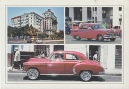 2013-EP-162 CUBA 2013 POSTAL STATIONERY FORWARDED. HABANA 1/32, CHEVROLET OLD CAR, AUTOS ANTIGUOS - Cuba