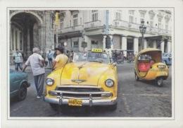 2013-EP-164 CUBA 2013 POSTAL STATIONERY FORWARDED. HABANA 28/32, CHEVROLET OLD CAR, AUTOS ANTIGUOS. - Cuba