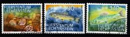 Liechtenstein   1987  MiNr. 922/ 924  O/ Used  ; Fische  I. - Fische