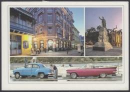 2013-EP-171 CUBA 2013 POSTAL STATIONERY FORWARDED. HABANA 4/32, CHEVROLET OLD CAR, AUTOS ANTIGUOS. - Cuba