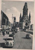 Berlin-Charlottenburg, Gedächtniskirche - Mit Hardenbergstrasse - 1957 - Charlottenburg