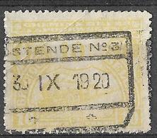 9S-079: TR123: OSTENDE N°3... Met Plooi - Railway