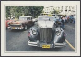 2013-EP-178 CUBA 2013 POSTAL STATIONERY FORWARDED. HABANA 4/32, BOOK FAIR, CADILLAC OLD CAR, AUTOS ANTIGUOS - Cuba