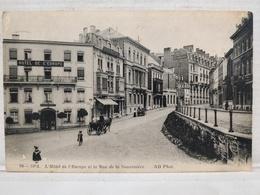 Spa. Hôtel De L'Europe Et La Rue Sauvenière - Spa