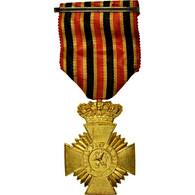 Belgique, 2ème Classe Pour Ancienneté, Mérite, Armée, Médaille, Excellent - Militaria
