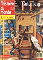L'HISTOIRE DU MONDE N° 55 Gutenberg , France De Louis XI , Nations En Europe Centrale , Temps Des Ingénieurs - Histoire