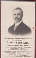 Ernest Stevaux Maria Wery La Plante Namur 1937 Doodsprentje Bidprentje Image Mortuaire - Images Religieuses
