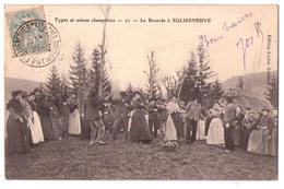 4176 - Egliseneuve D'Entraigues ( 63 ) - La Bourrée à Egliseneuve - Types Et Scènes Champêtres - N°22 - L.Amblard - - France