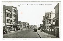 La Panne - Boulevard De Nieuport - De Panne Nieuwpoortlaan - 1951 - Edit. A. Dohmen - 2 Scans - De Panne