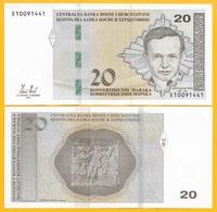 Bosnia-Herzegovina 20 Maraka P-82 2012 UNC Banknote - Bosnia And Herzegovina