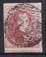 OBL  N° 5   BELLES MARGES + VOISIN       1849    COTE 500,00                       EPAULETTES - 1849-1850 Médaillons (3/5)