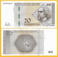 Bosnia-Herzegovina 20 Maraka P-83 2012 UNC Banknote - Bosnia And Herzegovina