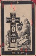 Angelique Reuland Dominique Hahn Derenbach Wincrange Luxembourg 1893 Doodsprentje Bidprentje Image Mortuaire - Images Religieuses