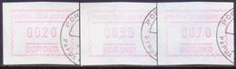 PAPUA NEW GUINEA 1990 Selection Of 3 Frama Stamps Used BOROKO - Papua New Guinea