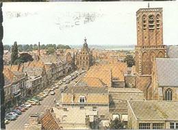Culemborg, Stadsgezicht   (Een Raster Op De Kaart Is Veroorzaakt Door Het Scannen;de Afbeelding Is Helder) - Culemborg