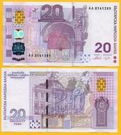 Bulgaria 20 Leva P-121 2005 Commemorative UNC Banknote - Bulgarie