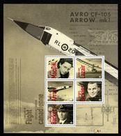 CANADA 2019, CANADIANS In FLIGHT   Souvenir Sheet - Blocs-feuillets
