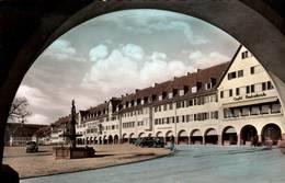 CPSM - FREUDENSTADT - Vue De La Ville - Marktplatz (voiture VW Coccinelle) - Freudenstadt