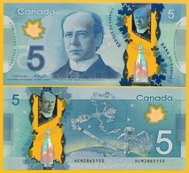 Canada 5 Dollars P-106b 2013 UNC Banknote - Canada
