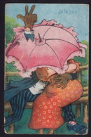 """COMIC HUMOUR - """"JE LE JURE"""" OLD POSTCARD (see Sales Conditions) - Humour"""