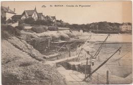 ROYAN   -    CONCHE DU PIGEONNIER  -   Edition Nouvelles Galeries De Royan N° 81 - Royan