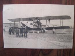 Belgique 1930 Vol Liège Paris 16 Juin  Par Avion Cpa équipage Air Mail Via Aerea Belgium - Poste Aérienne