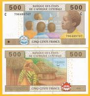 Central African States 500 Francs Chad (C) P-606C 2002 UNC Banknote - États D'Afrique Centrale