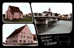 """CPSM - PFOHREN - Gasthaus """"METZGEREI Z.Ochsen"""" - Allemagne"""