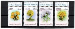 Kyrgyzstan.2014 Medicinal Plants. 4v: 20, 23, 35, 40 Michel # 781-84 - Kirgisistan