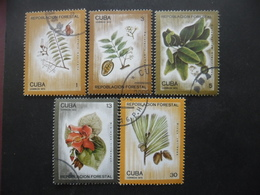 CUBA Série N°1861 Au 1865 Oblitérés - Collections (sans Albums)