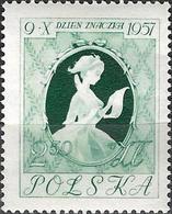 1957 - PAINTING  - LETTER AFTER FRAGONARD - Michel 1030 = 1.00 € - 1944-.... Republik