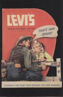 LEVI'S -  THAT'S OUR BRAND - Werbepostkarten