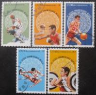 CUBA Série N°1867 Au 1871 Oblitérés - Collections (sans Albums)