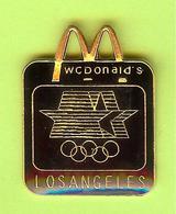 Pin's Mac Do McDonald's JO Jeux Olympiques Los Angeles - 1T17 - McDonald's