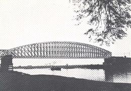 Culemborg, Spoorwegbrug   (Een Raster Op De Kaart Is Veroorzaakt Door Het Scannen;de Afbeelding Is Helder) - Culemborg